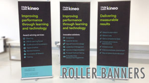 roller banner custom collapsible standing