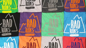 rad ride t shirts gildan soft style vinyl heat transfer personalised