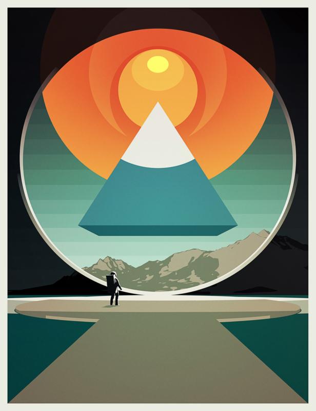 'Pyramid and Close to the Edge' Sam Williams